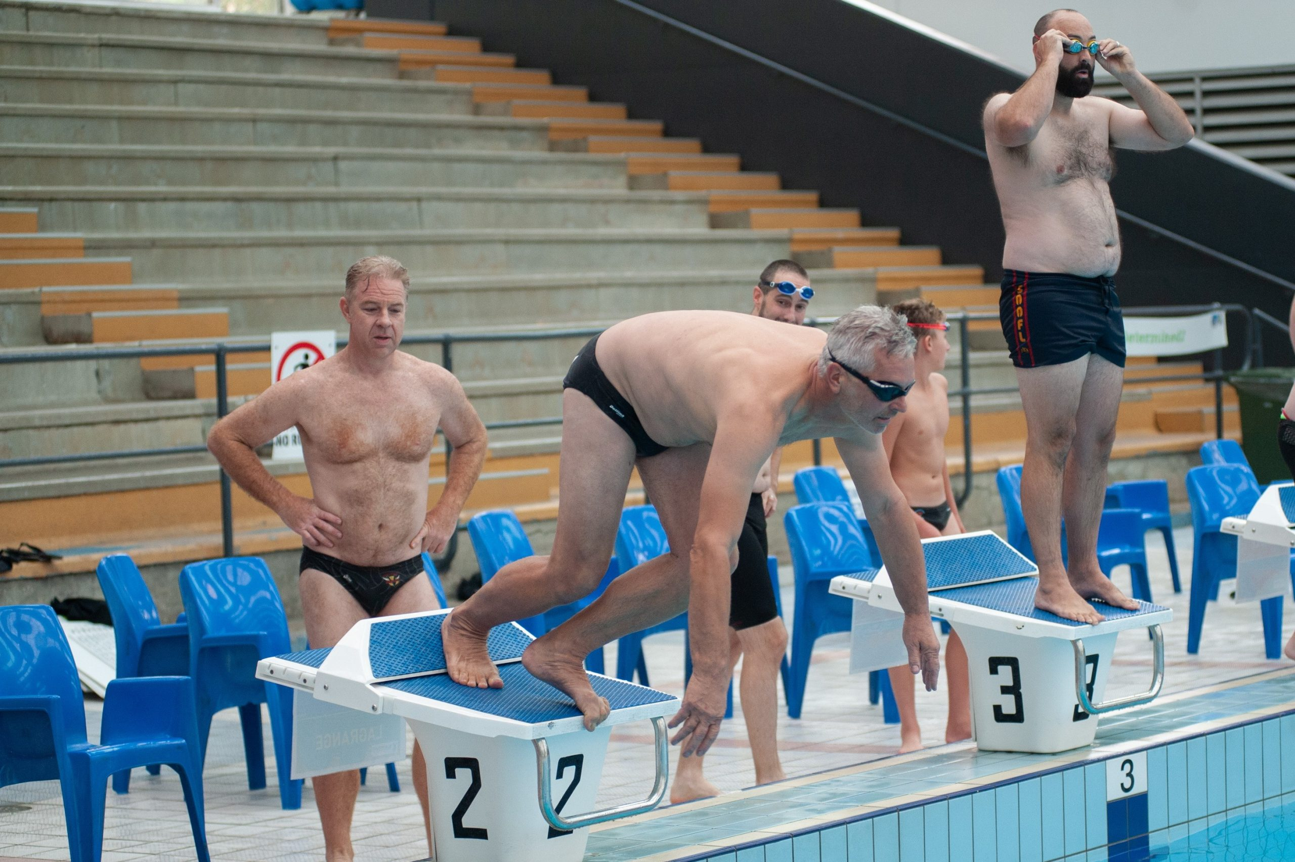 2020 Blackfriars Swimming Carnival Old Scholars relay