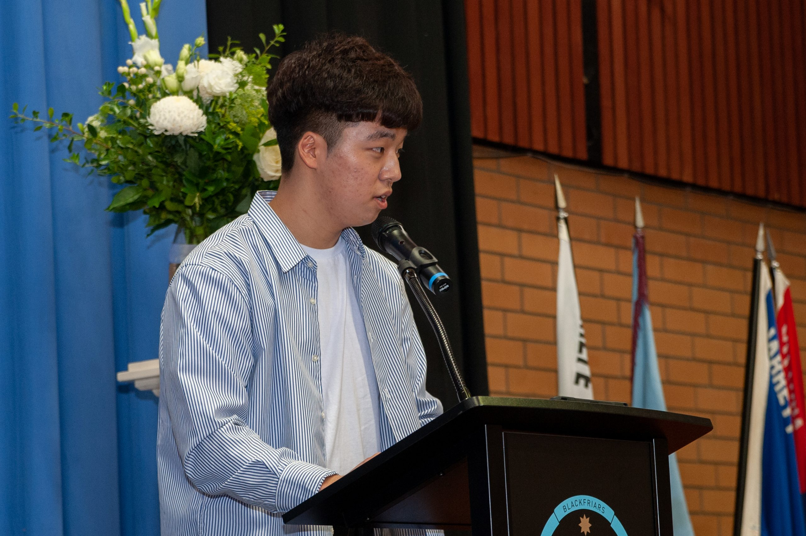 Youngmo (Silas) Koo delivers 2019 Laureate Address